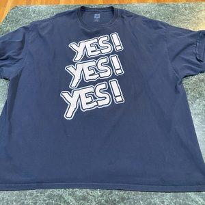 WWE Daniel Bryan YES YES YES T-Shirt Mens Size 4XL